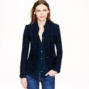 J. Crew blackwatch plaid schoolboy blazer 2 $238
